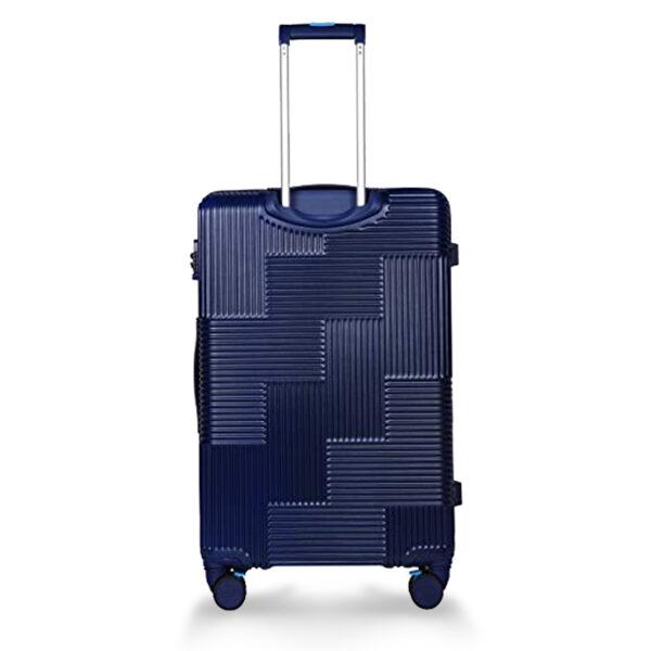 Airbus blue bag behind