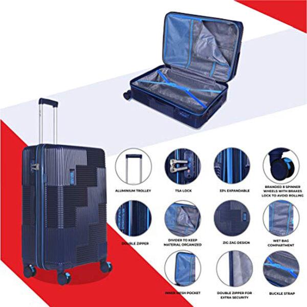 Airbus blue bag