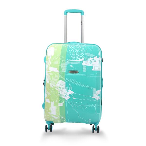 Aquarius green bag front