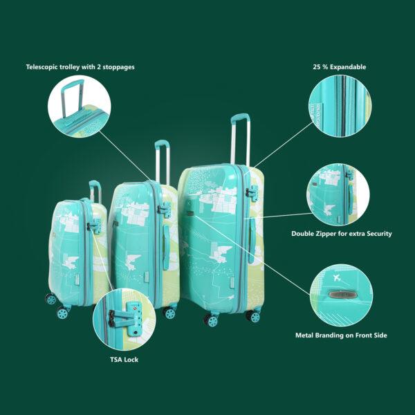 Aquarius green bag