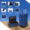 Bostonplus blue bag