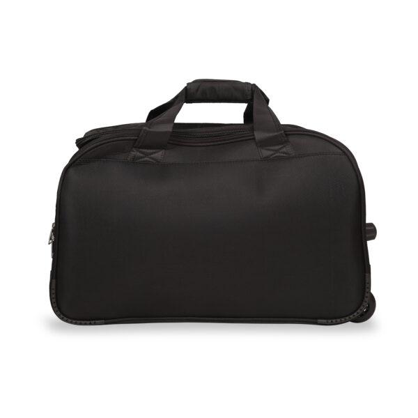 Everest black bag behind