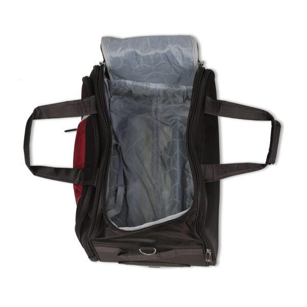 Everest black bag interior