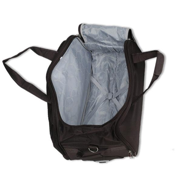 Maximus black bag interior