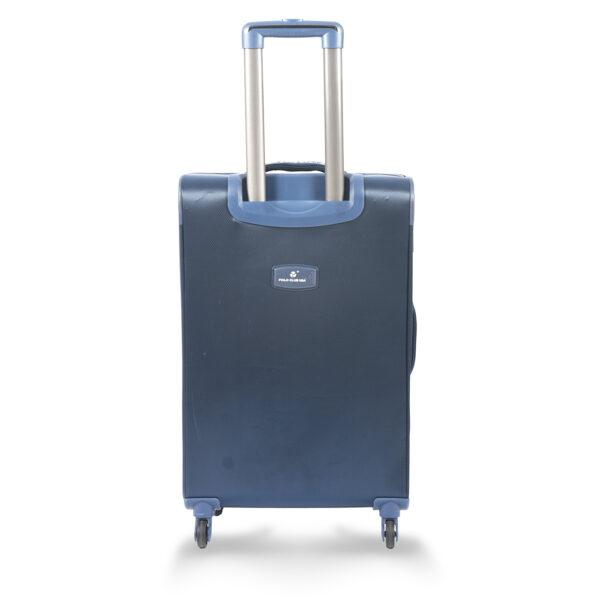 Runway blue bag behind
