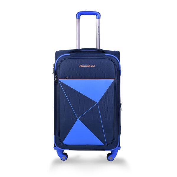 Slider blue bag front