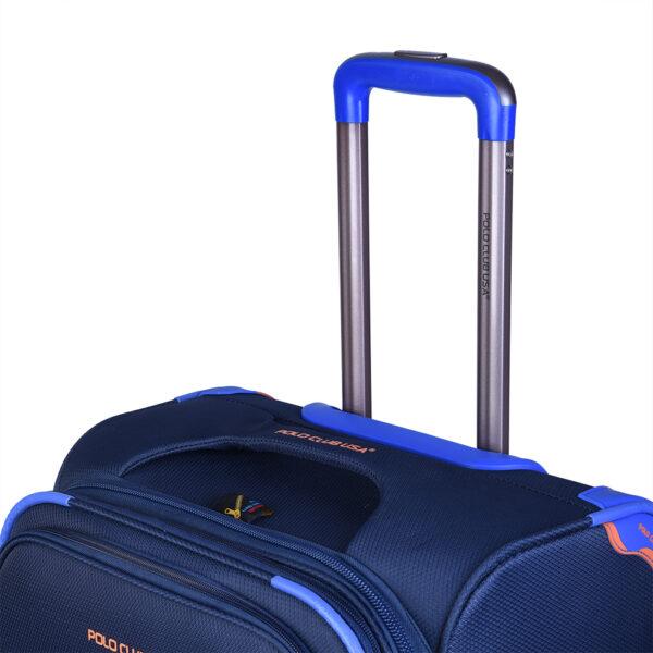 Slider blue bag top