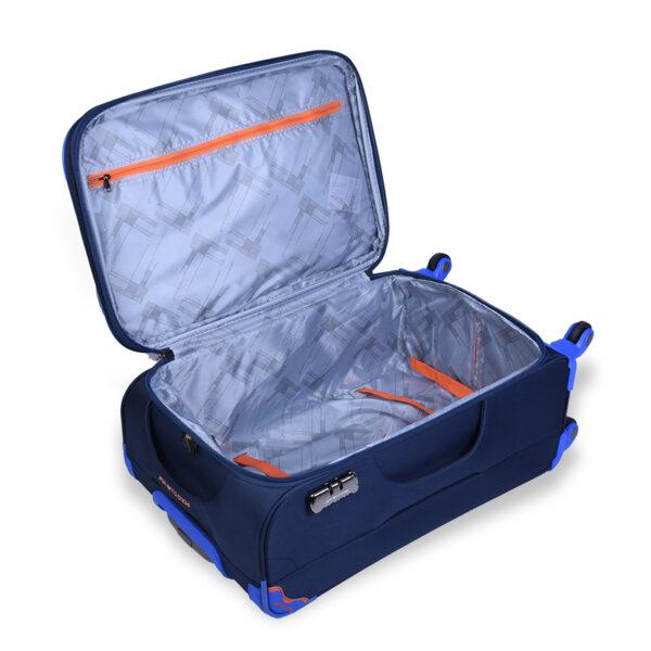 Slider blue bag interior