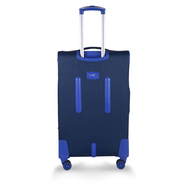 Stallion blue bag behind
