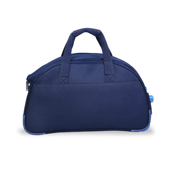 Travellon blue bag behind