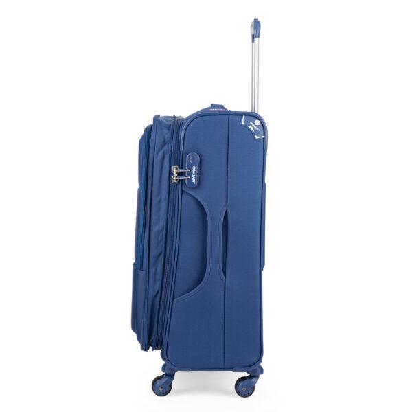 London blue bag sideways